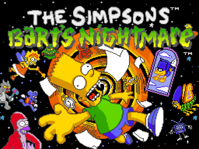 Simpsons, The - Bart no Fushigi na Yume no Daibouken (Japan) game