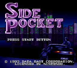 Side Pocket (Europe) on snes