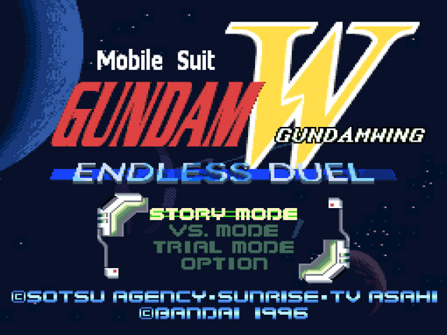 Shin Kidou Senki Gundam W - Endless Duel (Japan) [En by Aeon Genesis v1.0] (~Mobile Suit Gundam Wing - Endless Duel)