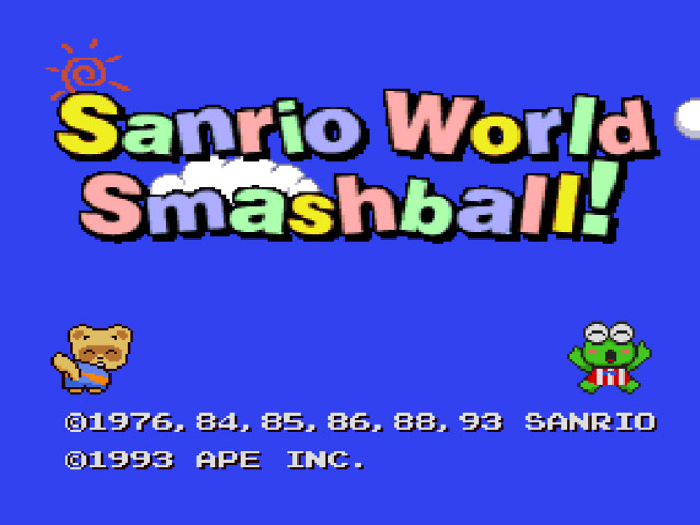 Sanrio World Smash Ball! (Japan) [En by Suicidal v1.0]