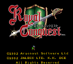 Royal Conquest (Japan)