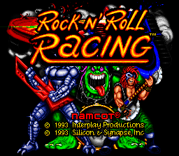 Rock n' Roll Racing (Japan)