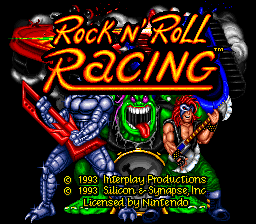 Rock n' Roll Racing (Europe)