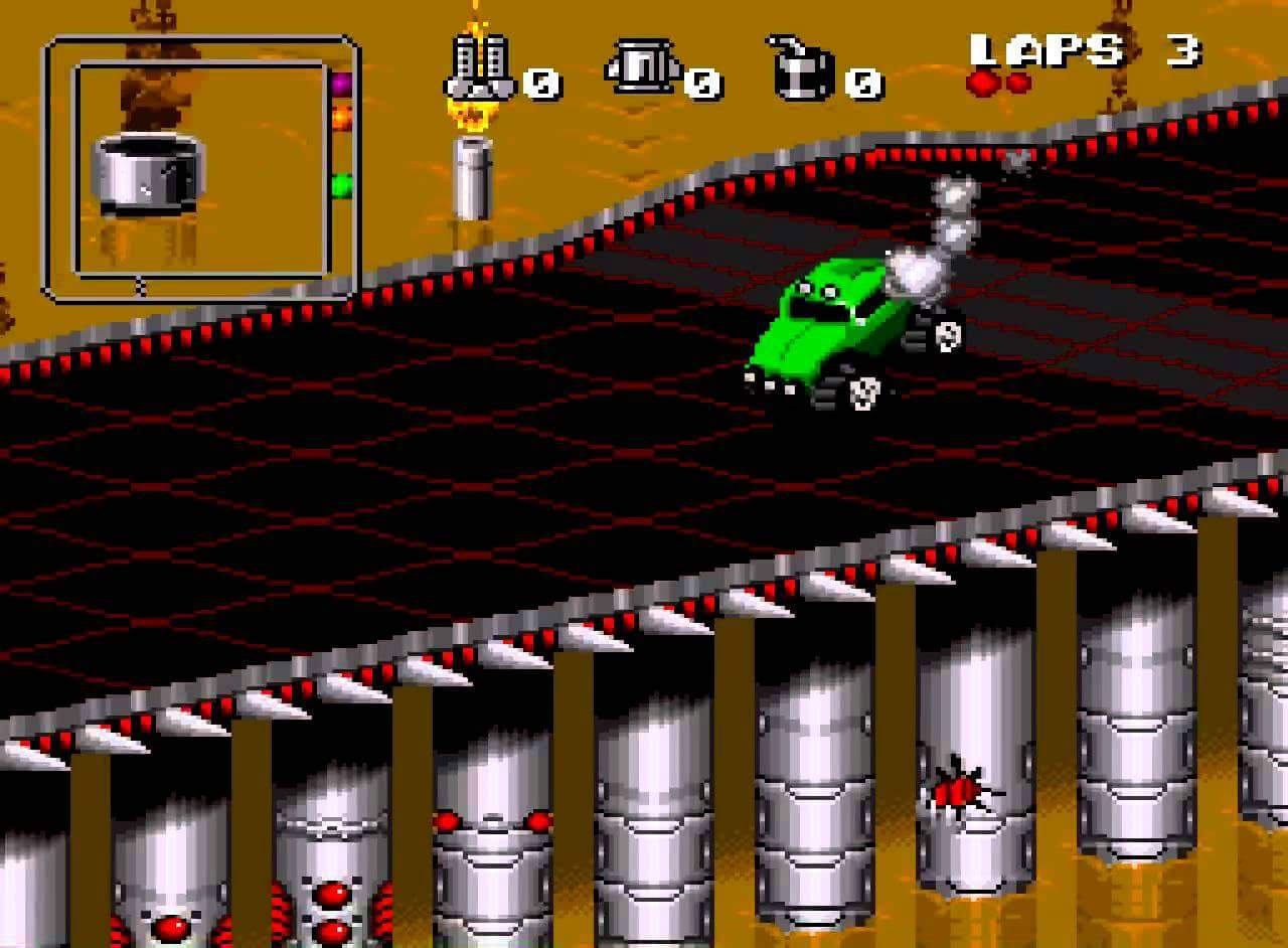 Rock n Roll Racing (Europe) game