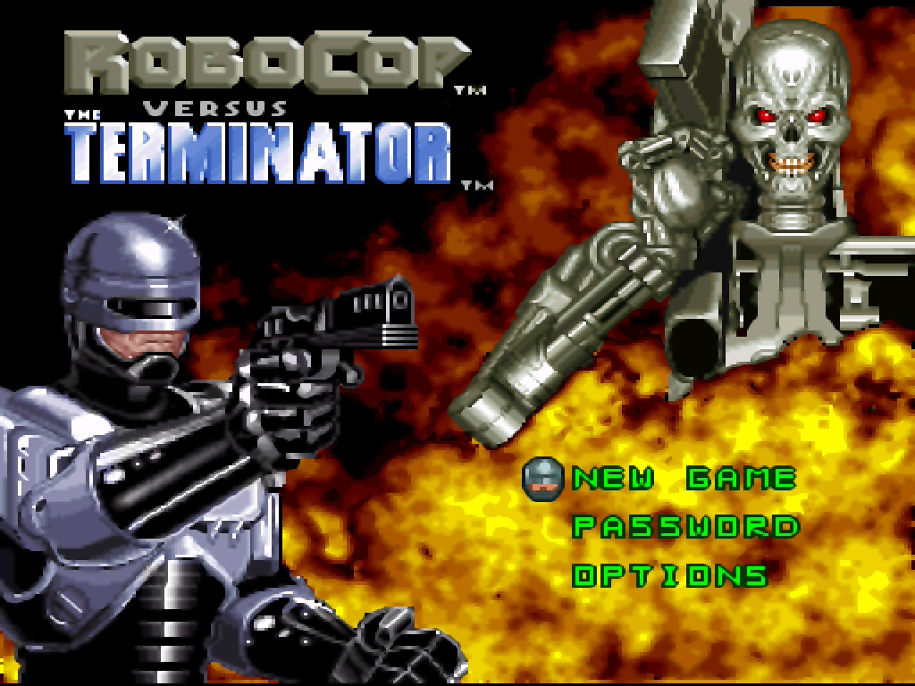 RoboCop versus The Terminator (Europe)
