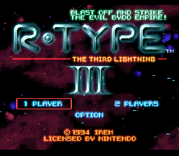 R-Type III - The Third Lightning (Europe) (Beta)