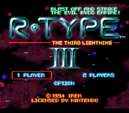 R-Type III - The Third Lightning (Europe)