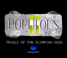 Populous II - Trials of the Olympian Gods (Japan)