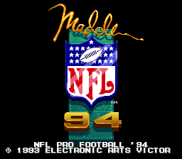 NFL Pro Football '94 (Japan)