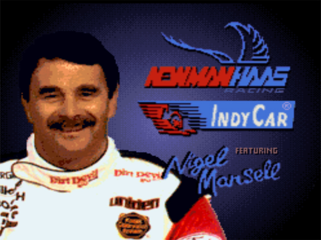 Newman-Haas IndyCar Racing featuring Nigel Mansell (Japan) game