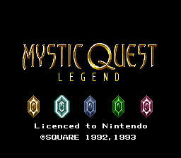 Mystic Quest Legend (France)
