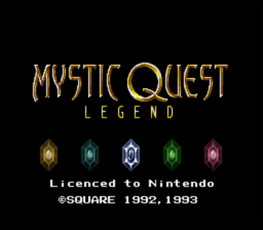 Mystic Quest Legend (France) game