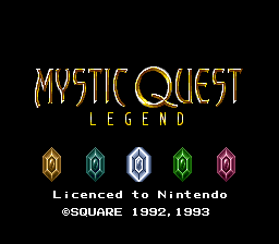 Mystic Quest Legend (Europe)