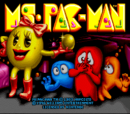 Ms. Pac-Man (Europe)