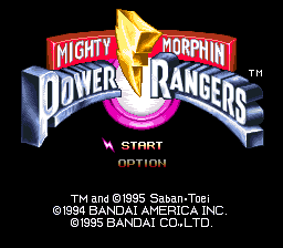 Mighty Morphin Power Rangers (Japan)