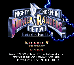 Mighty Morphin Power Rangers - The Movie (Europe)