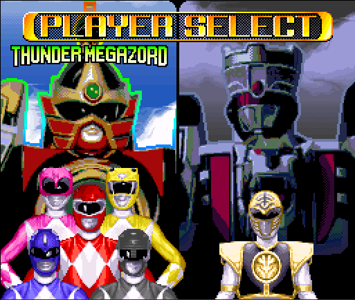 Mighty Morphin Power Rangers - The Fighting Edition (Europe) game