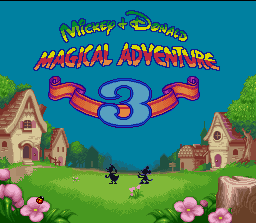 Mickey to Donald - Magical Adventure 3 (Japan) [En by RPGOne v1.1] (~Mickey & Donald - Magical Adventure 3) game