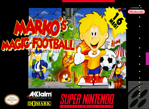 Markos Magic Football (Europe) (En,Fr,De,Es) game