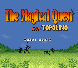 Magical Quest Starring Mickey Mouse, The (Italy)