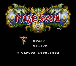 Magic Sword (Europe)