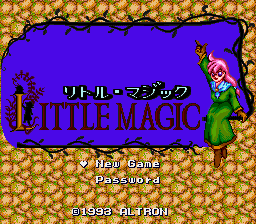 Little Magic (Japan) (Beta)