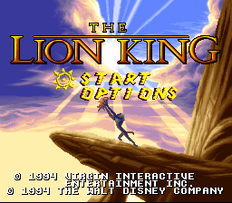 Lion King, The (Japan)