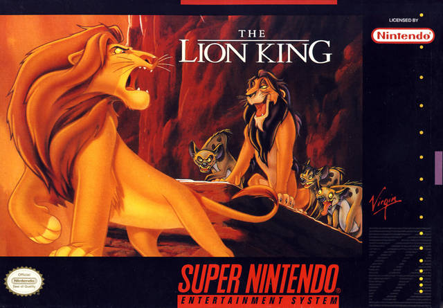 Lion King, The (Japan) game