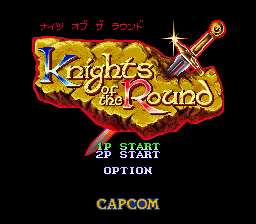 Knights of the Round (Japan)