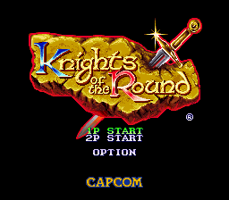 Knights of the Round (Europe)