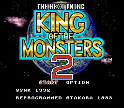 King of the Monsters 2 - The Next Thing (Japan)