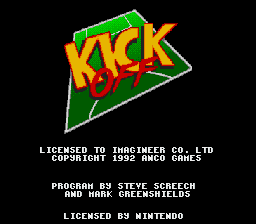Kick Off (Europe) on snes