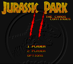 Jurassic Park II - The Chaos Continues (Europe) (En,Fr,De,It)