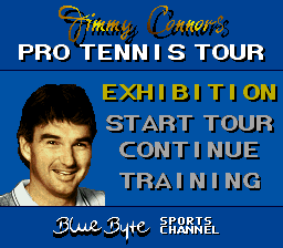 Jimmy Connors Pro Tennis Tour (Japan)