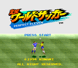 Jikkyou World Soccer - Perfect Eleven (Japan)