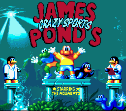 James Pond's Crazy Sports (Europe)