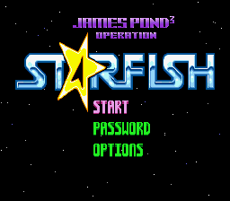 James Pond 3 - Operation Starfish (Europe)