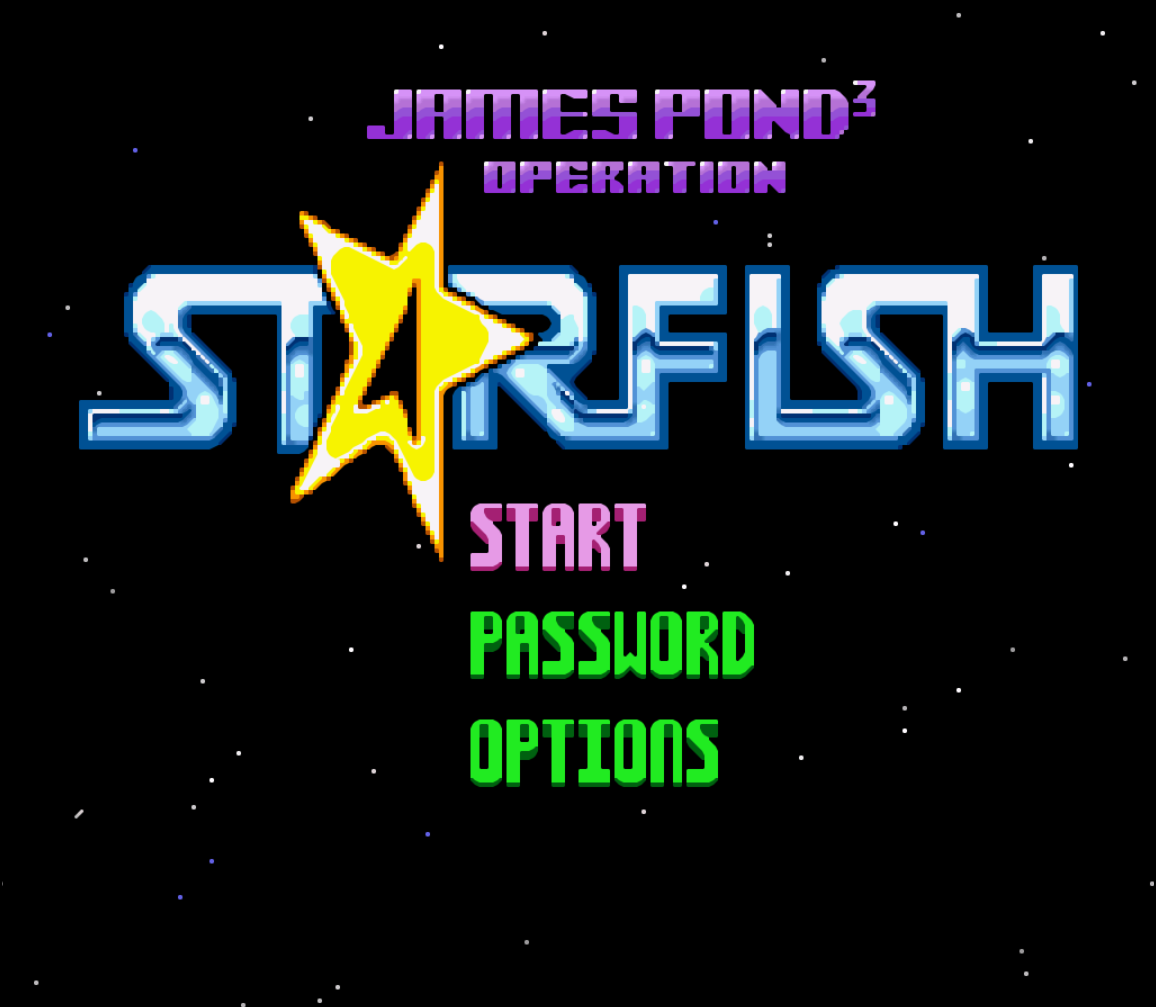 James Pond 3 - Operation Starfish (Europe) game