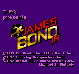 James Bond Jr. (Europe) on snes