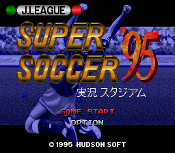J.League Super Soccer '95 - Jikkyou Stadium (Japan)