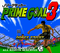 J.League Soccer Prime Goal 3 (Japan)