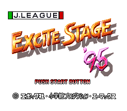J.League Excite Stage '95 (Japan)