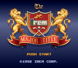 Irem Major Title, The (Japan)