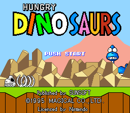 Hungry Dinosaurs (Europe)