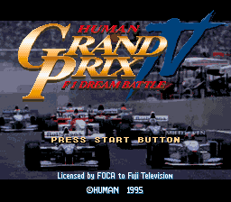 Human Grand Prix IV - F1 Dream Battle (Japan)
