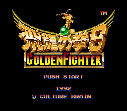 Hiryuu no Ken S - Golden Fighter (Japan)