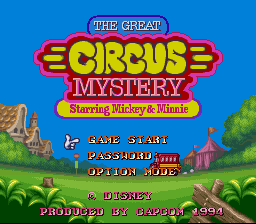 Great Circus Mystery Starring Mickey & Minnie, The (Europe)