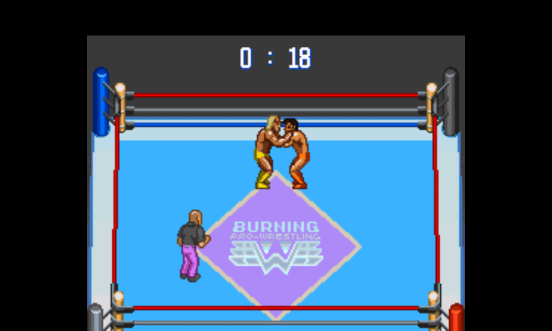 Gekitou Burning Pro Wrestling (Japan) [En by Phil v1.0]
