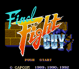 Final Fight Guy (Japan)