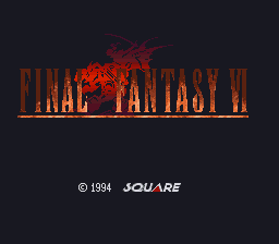 Final Fantasy VI (Japan) game